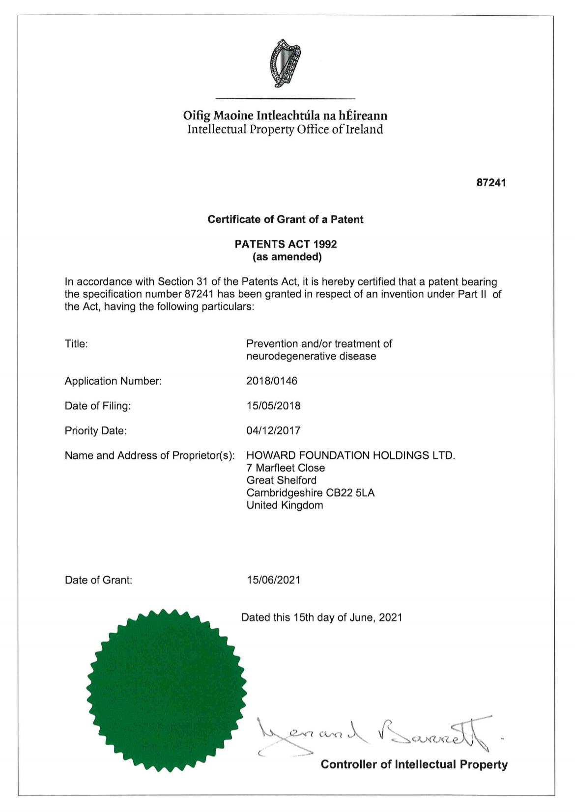 Patent full